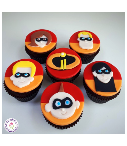 Cupcakes - 2D Fondant Toppers