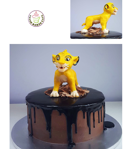 The Lion King Themed Cake 3
