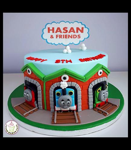 Thomas the Train Themed Cake 09