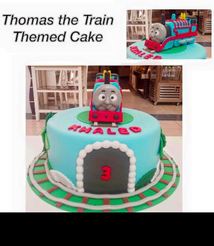Thomas the Train Themed Cake 01