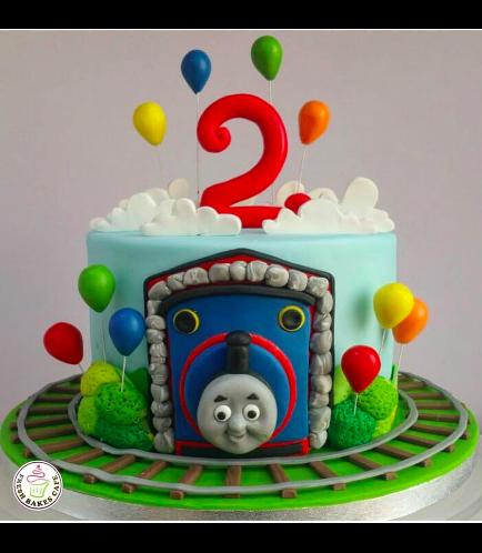 Thomas the Train Themed Cake 03
