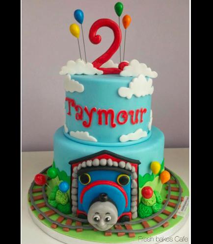 Thomas the Train Themed Cake 04