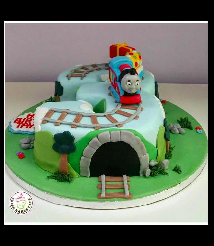 Thomas the Train Themed Cake 05a