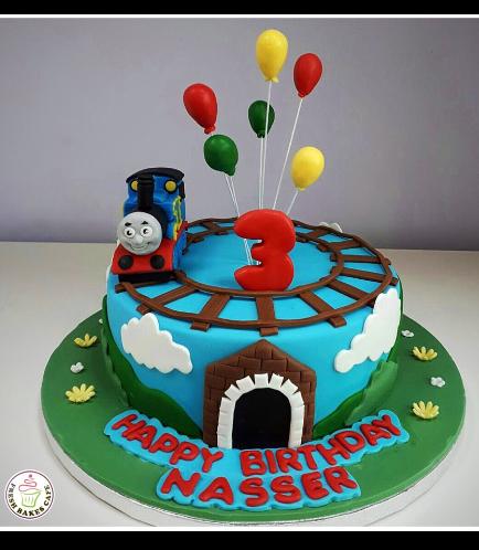 Thomas the Train Themed Cake 06b