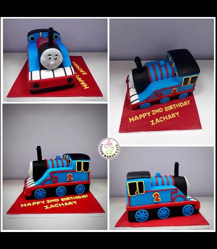 Thomas the Train Themed Cake 08