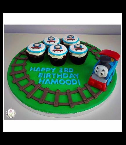 Thomas the Train Themed Cupcakes 02