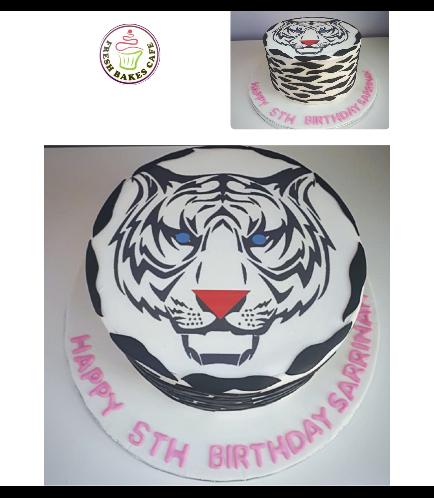 Tiger Themed Cake 03