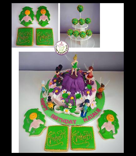 Tinker Bell Themed Cake 05b