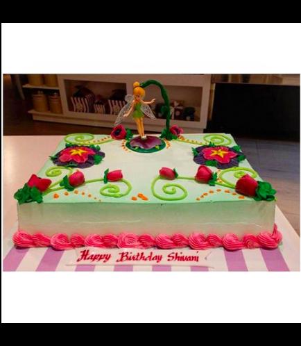 Tinker Bell Themed Cake - Toys - Rectangular