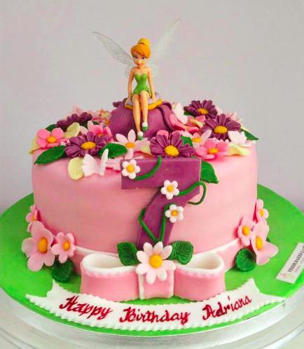Tinker Bell Themed Cake 02