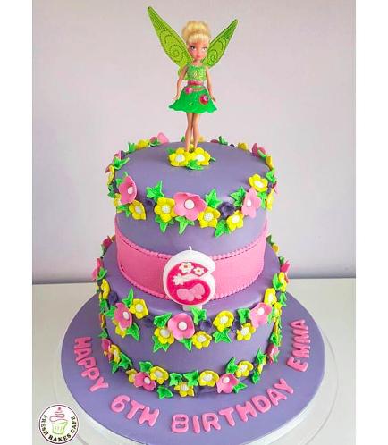 Tinker Bell Themed Cake 03