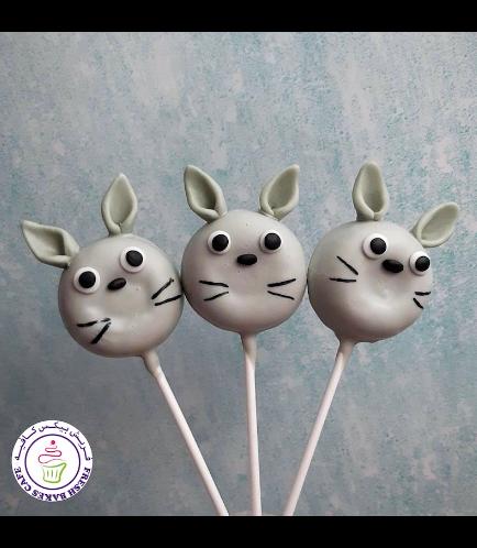 Totoro Themed Donut Pops