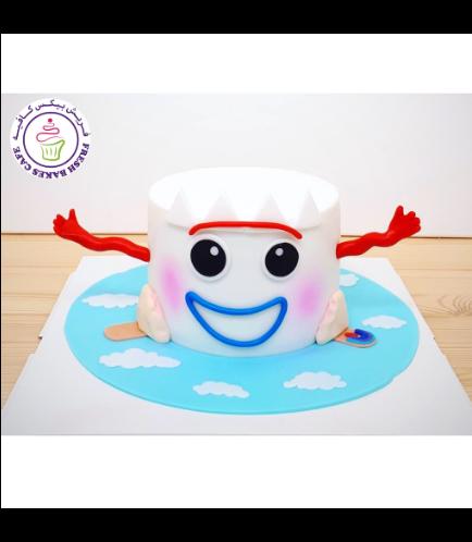 Cake - Forky - 2D Cake