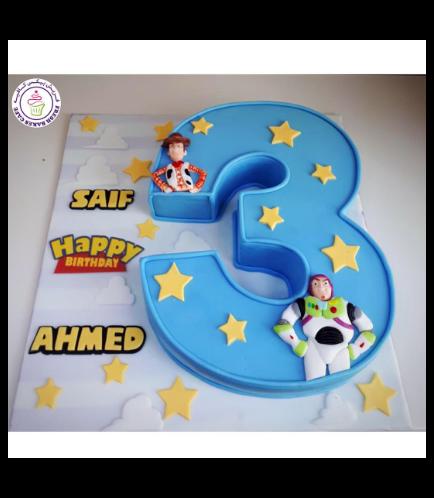 Cake - Number 03 - 3D Cake