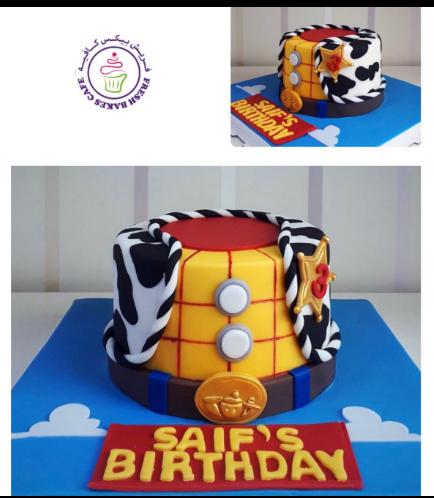 Cake - Woody - 2D Cake