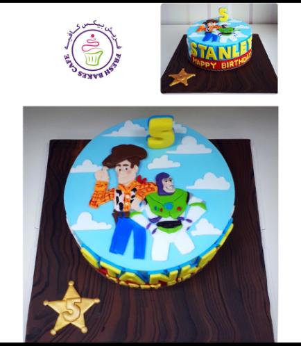 Cake - Picture - 2D Fondant Picture 01