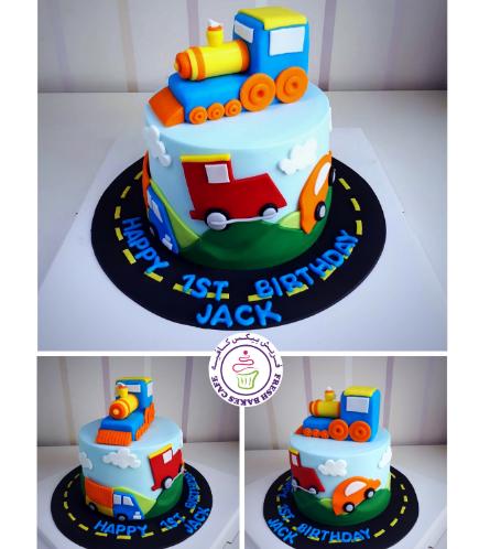 Train Themed Cake 06