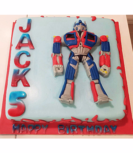 Transformers Themed Cake 01
