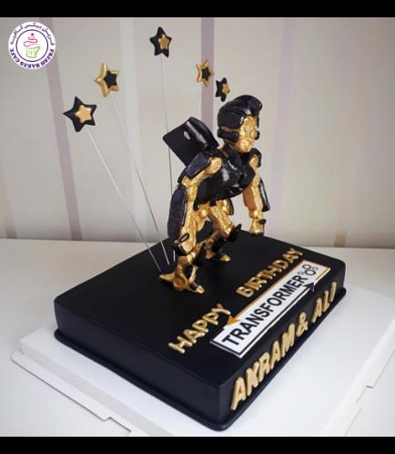 Transformers Themed Cake 10b