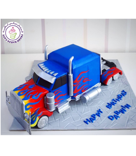 Transformers Themed Cake 11b