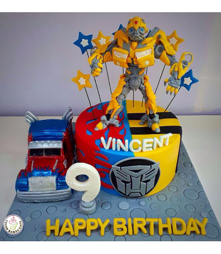 Transformers Themed Cake 06a