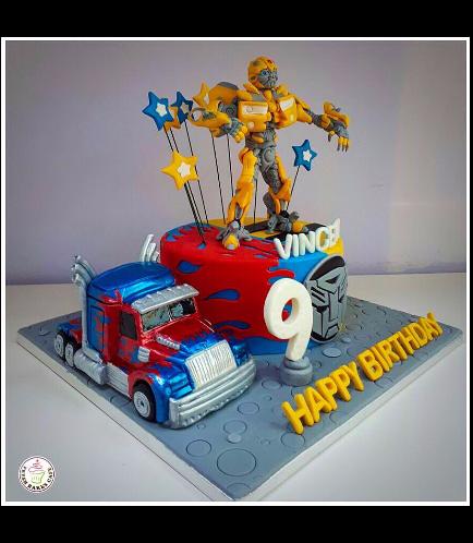 Transformers Themed Cake 06b