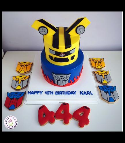 Transformers Themed Cake 09b