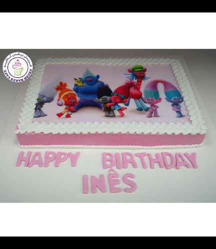 Cake - Printed Picture - Fondant
