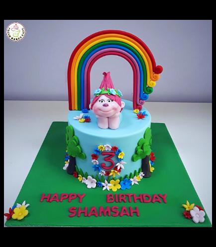 Trolls Themed Cake 10