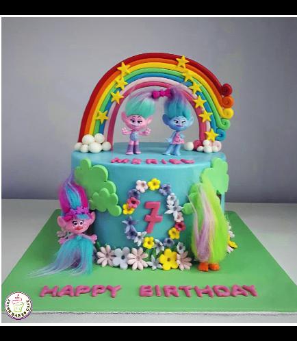 Trolls Themed Cake 12