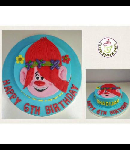 Trolls Themed Cake 02
