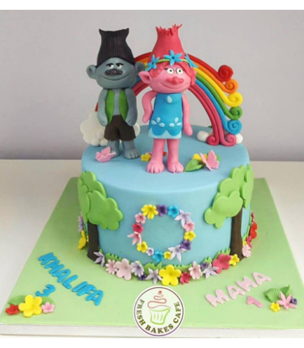 Cake - 3D Cake Toppers - 1 Tier 01