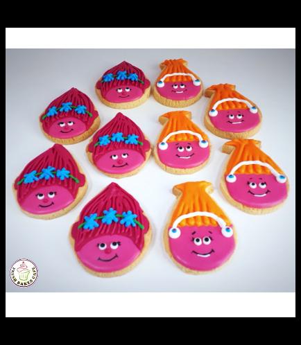 Trolls Themed Cookies 02