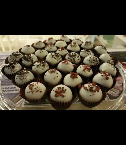 Red Velvet & Oreo Cake Truffles