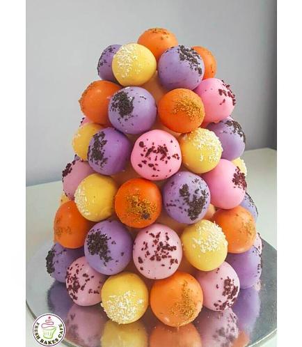Cake Truffles Tower