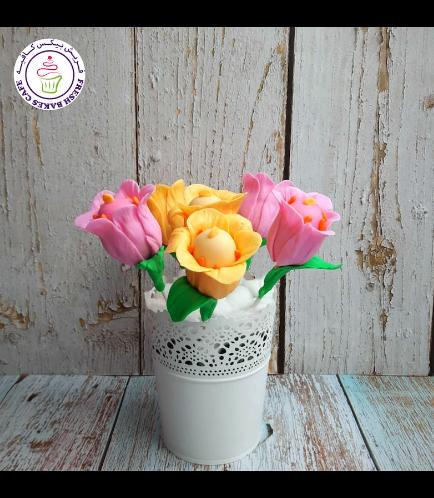 Cake Pops - Tulips 02