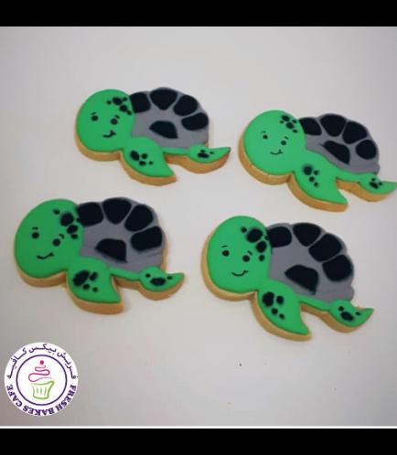 Turtle Themed Cookies - Sea Turtles