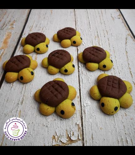 Turtle Themed Cookies - Sugar Cookies