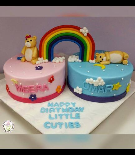 Cakes - Rainbow & Bears