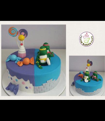 Cake - Candies & Ninja Turtles