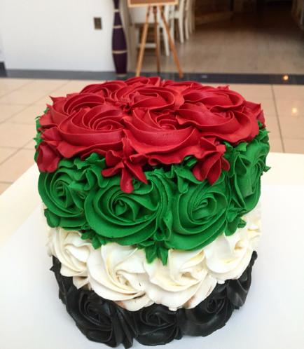 Cake - Roses - Cream 01
