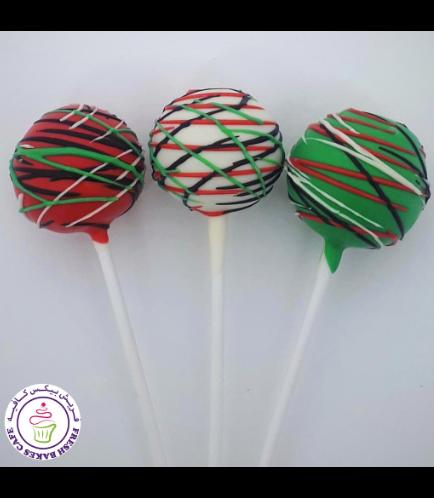 Cake Pops - Flag Colors