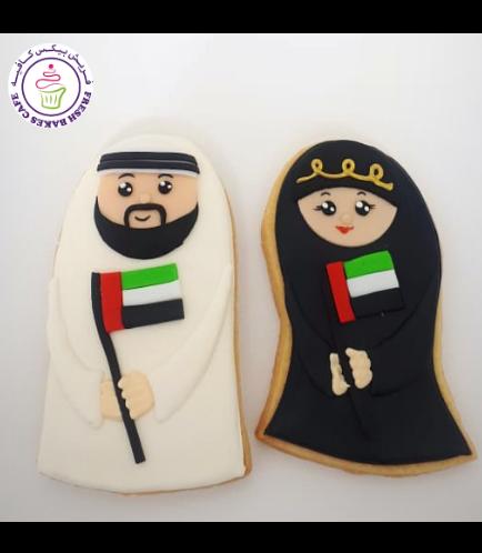 Cookies - Flag - Man & Woman