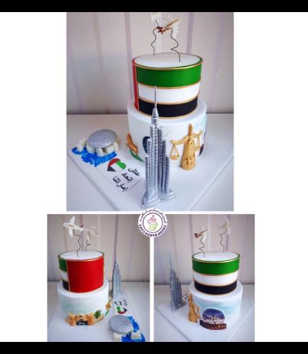 Cake - Flag & 7 Emirates 01b