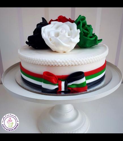 Cake - Roses - Fondant 01