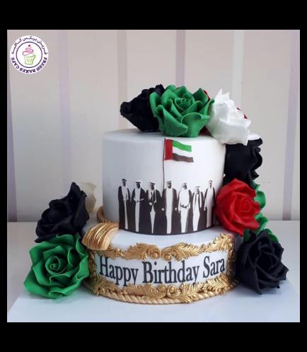 Cake - Roses - Fondant 02a