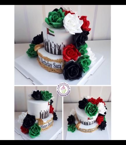 Cake - Roses - Fondant 02b