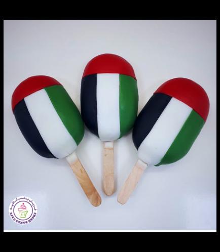 UAE National Day Themed Popsicakes 02
