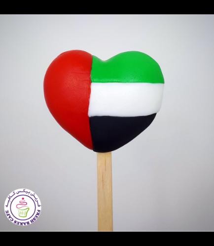 Popsicakes - Flag - Heart
