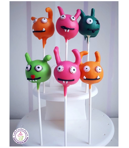 UglyDolls Themed Cake pops